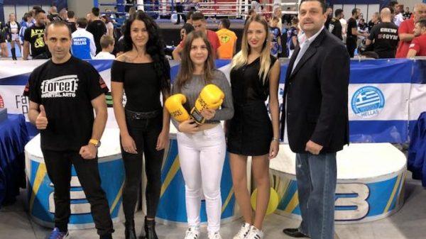 Aποκλειστικός χορηγός στο Πανελλήνιο πρωτάθλημα Kickboxing κάτω των 18 η Force 1