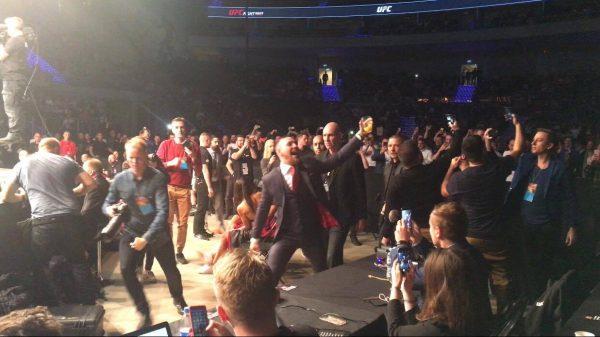 O McGregor στην… κάμερα του Fightsports! (BINTEO)