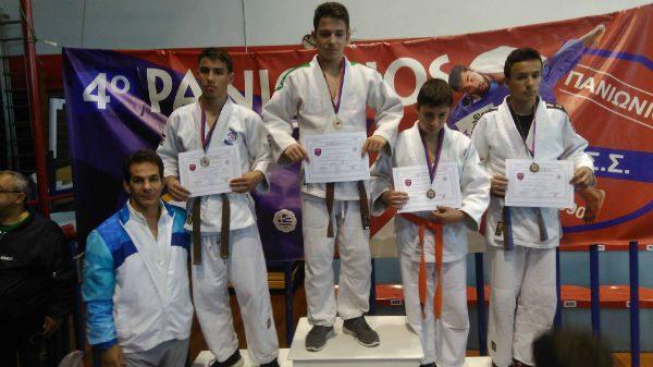 Southern Judo Academy: Κέρδισαν μετάλλια στο Panionios Cupe