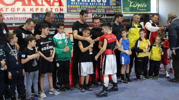 Τo μέλλον της Ελληνικής πυγμαχίας στο  9ο School Gala Boxing
