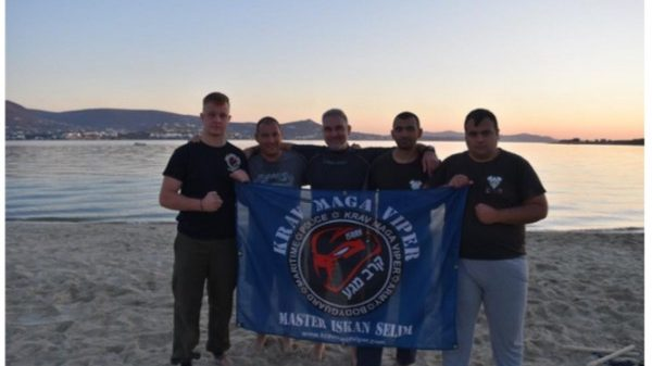 To Κrav Maga Viper Ξάνθης σε Κυκλάδες και Γερμανία