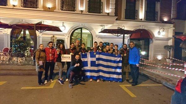 Σάρωσε στο πρωτάθλημα Ταεκβοντο της Αλβανίας ο Ευκλέας Λευκάδας