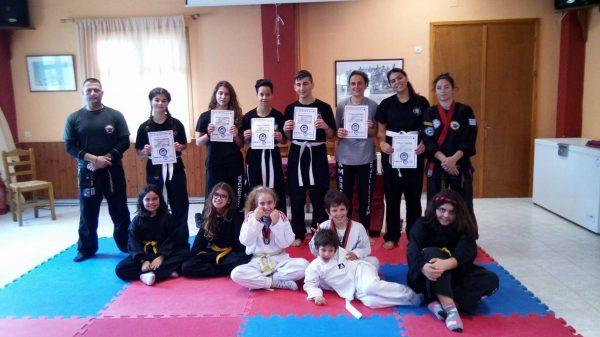 Με επιτυχία οι εξετάσεις Combat Hapkido του Πανικάριου Αθλητικού συλλόγου Μαίανδρος