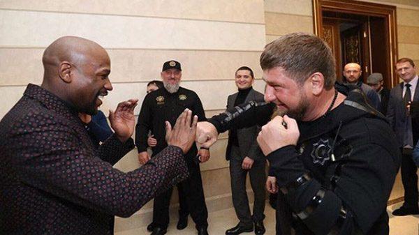Κολλητοί και σύντομα συμπατριώτες Mayweather και Kadyrov!