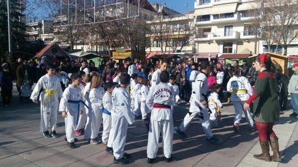 Νέα επίδειξη του Άθλου Κιλκίς σε Taekwondo και Kickboxing.