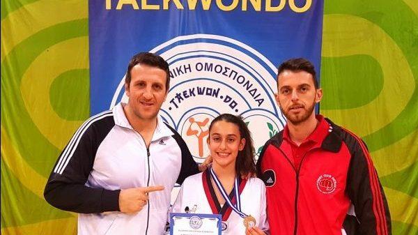 Χάλκινο μετάλλιο για Λεβαντή του Fight Club Patras