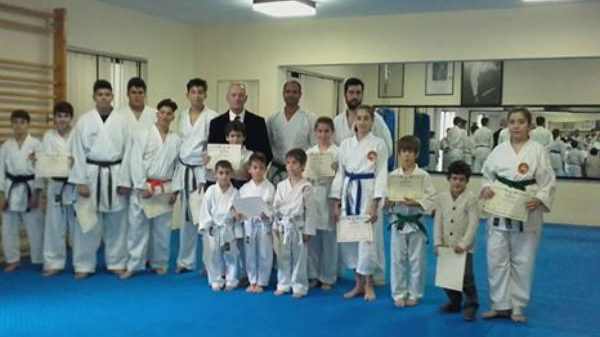 Shotokan Karate Ρόδου: Με επιτυχία οι εξετάσεις KYU