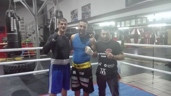 Στο Unbroken Boxing Agrinio ο Μάριος Κόλλιας