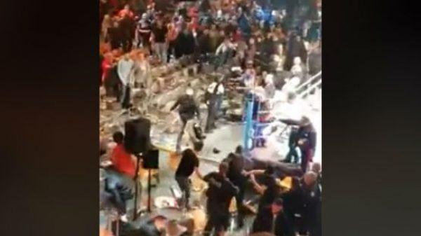 Τρομερά επεισόδια σε αγώνα μποξ στη Γαλλία! (ΒΙΝΤΕΟ)
