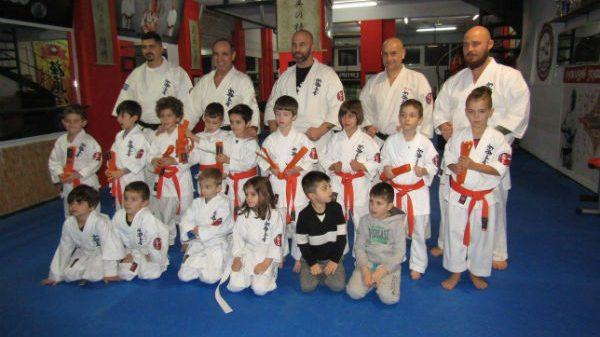 A.C. ShinKyokushinkai Karate Larissas: Έκλεισαν τη χρονιά με εξετάσεις