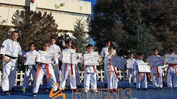 Επιδείξεις του Kinesis Gym σε kickboxing και Καράτε στο Κιλκίς