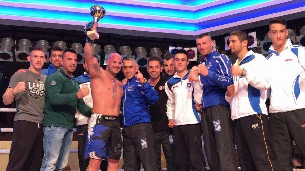 Αγώνας MMA για Μάκη Κουρσάρη στο Scorpion Fight