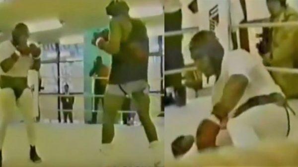 Η γροθιά που…κουδούνισε τον Mike Tyson σε σπάρινγκ (ΒΙΝΤΕΟ)