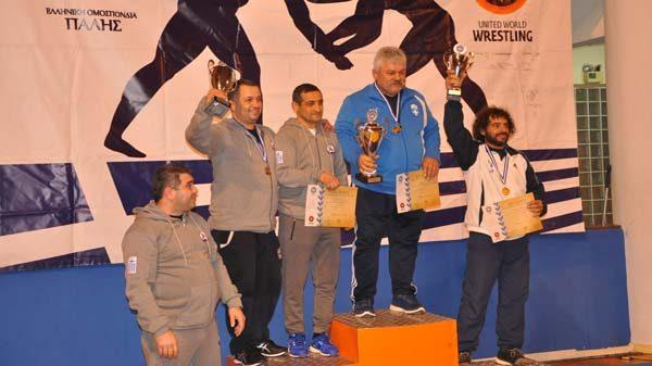 ΠΑΟΚ, Μ. Αλέξανδρος Ασπροπύργου και Ευπυρίδαι Άνω Λιοσίων πρωταθλητές Ελλάδας στην πάλη