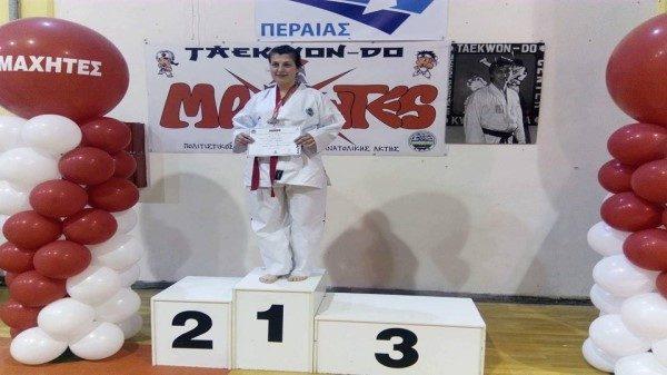 Πρώτη θέση για Σοφιανού στο διασυλλογικό πρωτάθλημα Ταεκβοντο