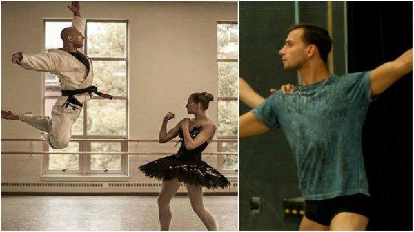 George Birkadze: Ο μαυροζωνάς που εξηγεί πόσο κοινό είναι το μπαλέτο με τις πολεμικές τέχνες