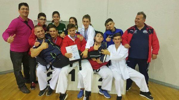 Στο βάθρο οι Gerontis fighters στο Πανελλήνιο πρωτάθλημα Ταεκβοντο