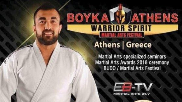 «Βόμβα» με Ηλιάδη στο Boyka: Athens Warrior Spirit