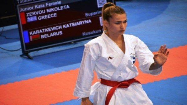 Νικολέτα Ζερβού: Είναι ανατριχιαστικό να ανεβαίνεις στο βάθρο και να σηκώνεις την ελληνική σημαία ψηλά