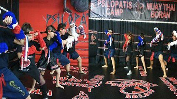 Στο διασυλλογικό πρωτάθλημα Muay Boran το Psilopatis Camp