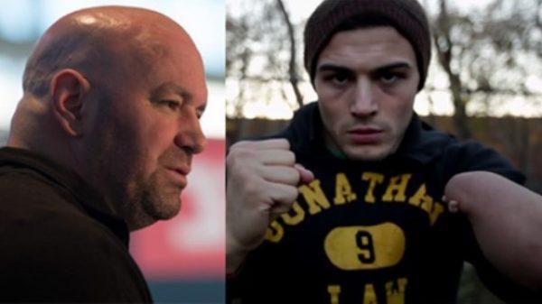 Όταν ο Dana White απέκλειε τον μονόχειρα πυγμάχο από το UFC