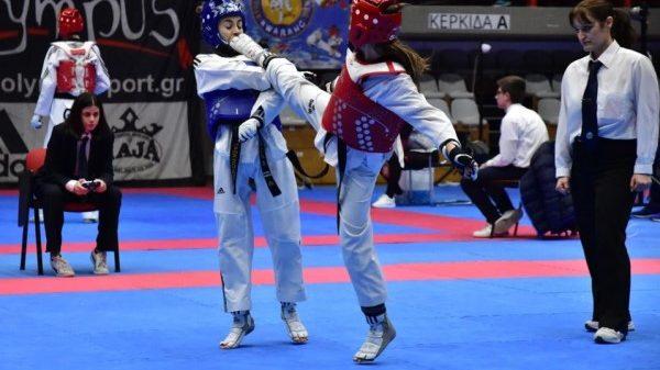 Τα αποτελέσματα Εφήβων και Νεανίδων στο Πανελλήνιο πρωτάθλημα Ταεκβοντο