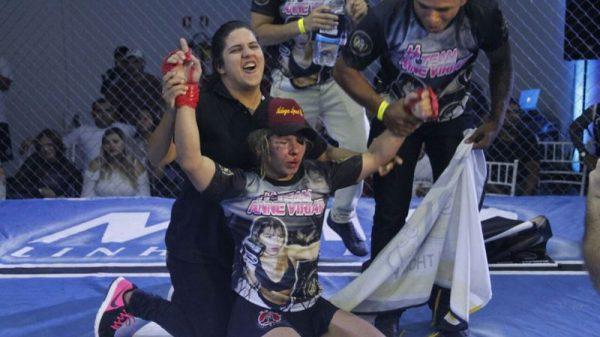 Έγινε ο πρώτος αγώνας τρανστζέντερ γυναίκας με άντρα (BINTEO)
