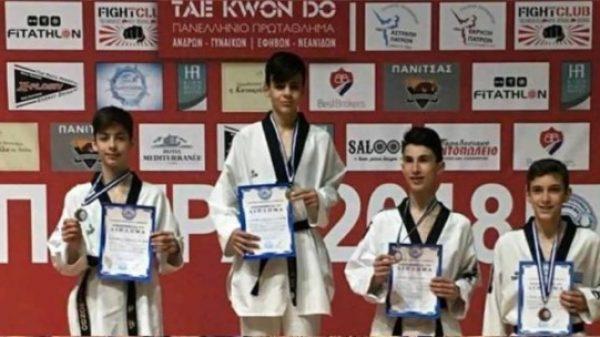 Μετάλλια για τον Α.Σ Δία Λάρισας στο Πανελλήνιο πρωτάθλημα