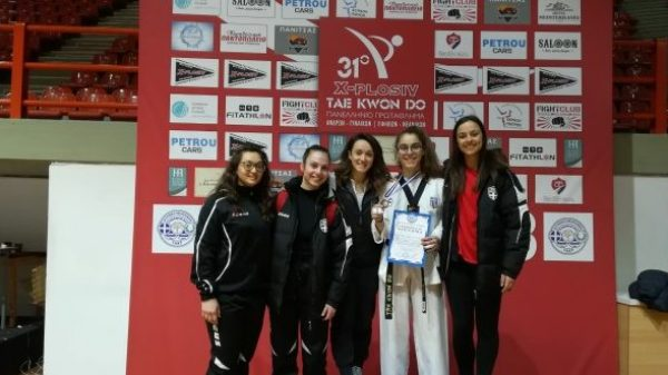Μετάλλιο για Μαλιγκα, εξαιρετικές Παπαδοπούλου, Ποζαρλη στο Πανελλήνιο πρωτάθλημα Ταεκβοντο