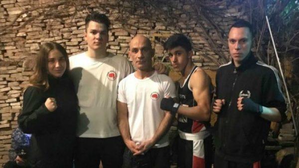 Πυγμαχικά σπάρινγκ για το Fight Club Patras