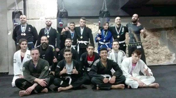 Δυναμική συμμετοχή των Pontika- Nazarenko team στο Πανελλήνιο πρωτάθλημα BJJ