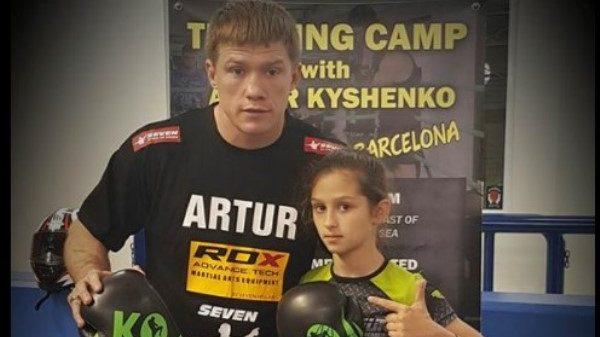Στο σεμινάριο του Artur Kyshenko η ακαδημία «The Gun»