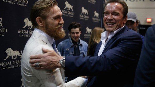 Conor McGregor για Schwarzenegger: Είσαι έμπνευση για μένα
