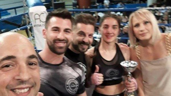 Pagratis Club: Εντυπωσιακή η νίκη της Ελένης Κατσιμίχα στο Spartan's Night απέναντι στη Ribeiro Iara