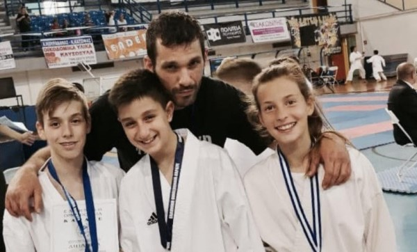 Αθλητικός Σύλλογος Καράτε Αμαρουσίου «Ο Δρόμος της Ειρήνης»: Με 11 αθλητές στο Karate Open