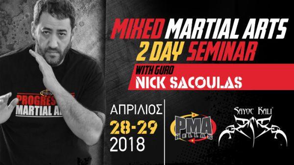 Διήμερο Σεμινάριο MMA στην PMA Hellas
