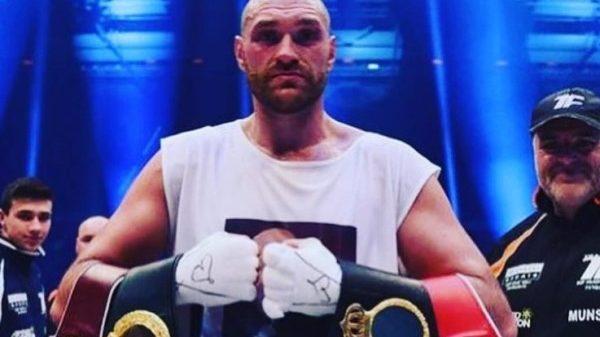 O Tyson Fury μία εβδομάδα μετά την τιτανομαχία ξεκίνησε προετοιμασία για την ρεβάνς