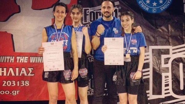 Με επιτυχίες στο κύπελλο ΠΟΚ η Elite Fightsports