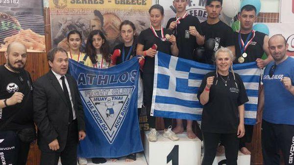 Athlos Fight Club: Μετάλλια στο παγκόσμιο φεστιβάλ