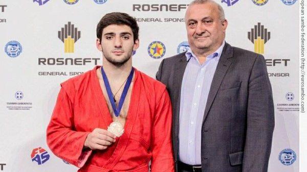 Χάλκινο μετάλλιο ο Μαρκαριάν στο Ευρωπαϊκό Πρωτάθλημα Σάμπο