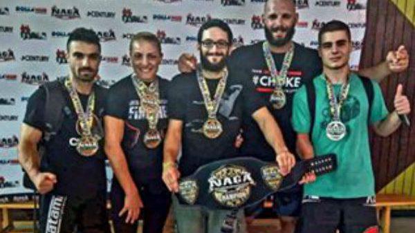 Choke Luta Livre Team: Εφτά πρώτες θέσεις στο Ευρωπαϊκό πρωτάθλημα grappling του NAGA