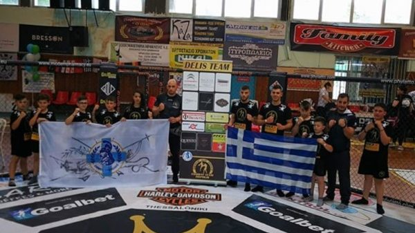 Στο πρωτάθλημα πολεμικών τεχνών στις Σέρρες η Combat Team Τρίπολης