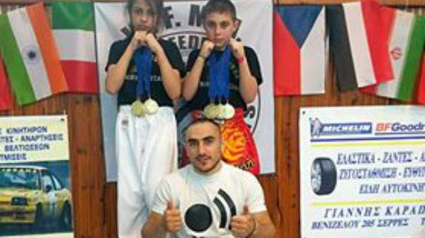 Golden Gloves Gym: Εντυπωσίασαν Ντουγκλάτζε – Τρατσή