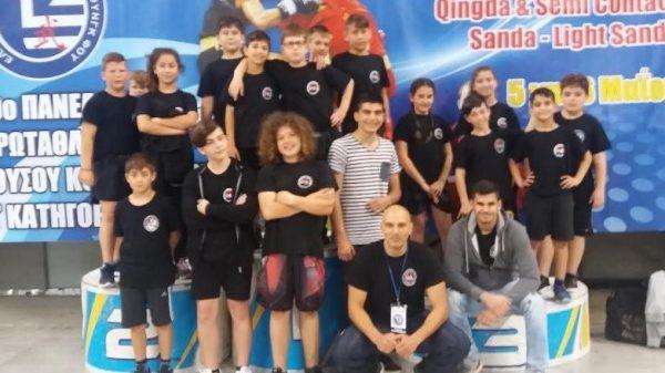 Συμμετοχή Α.Σ.Ιαπετού Χανίων στο 19ο Πανελλήνιο Πρωτάθλημα Γου Σου Κουνγκ Φου