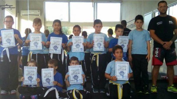Με επιτυχία οι εξετάσεις της Ελληνικής Ένωσης Combat Hapkido