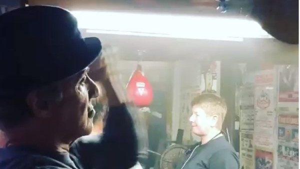 «Πυροβόλο» ο Σταλόνε ετοιμάζεται για το Creed 2
