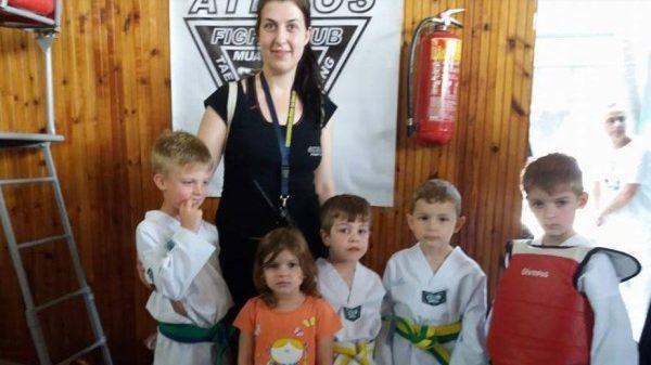 Άθλος Κιλκίς: Συμμετοχή στο Hwarang Kinder Games