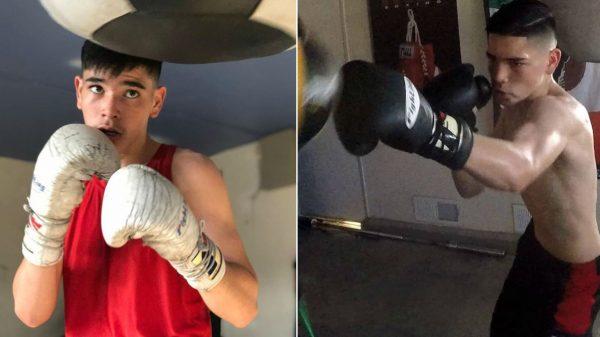 O 15χρονος Daniel Luna έχει κάνει γυμναστήριο το γκαράζ του και είναι άνεμος