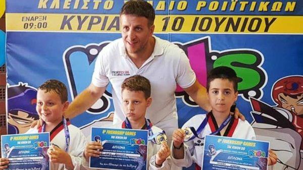 Εμπειρίες για τους μικρούς μαχητές του Fight Club Patras
