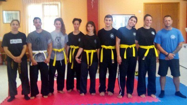 Εξετάσεις ζωνών στους Ιkaria Fighters στο Combat Hapkido